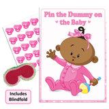 Ethnic Pin the Dummy on the Baby Game - Uk Baby Shower Co ltd