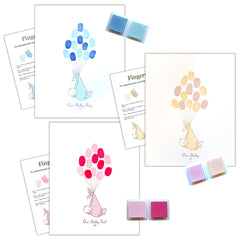 Alternative Guest Book - Fingerprint Tree Kit - Uk Baby Shower Co ltd