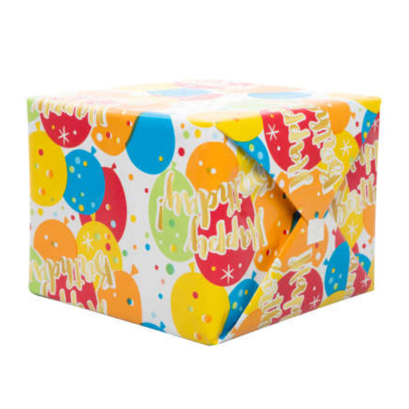 Happy Birthday Gift Wrap - Instore Only