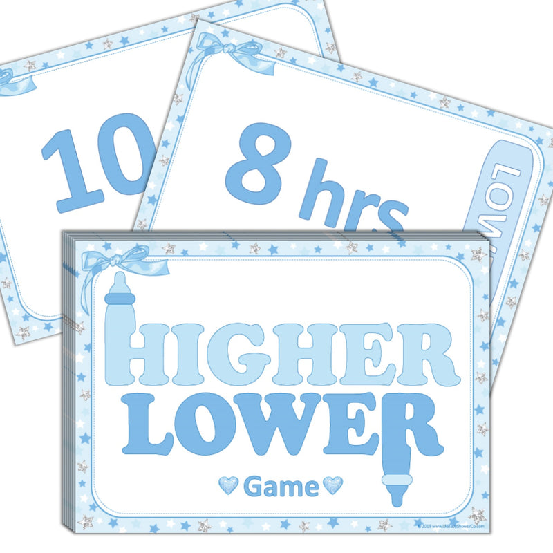 **NEW IN** Higher or Lower Game - Uk Baby Shower Co ltd