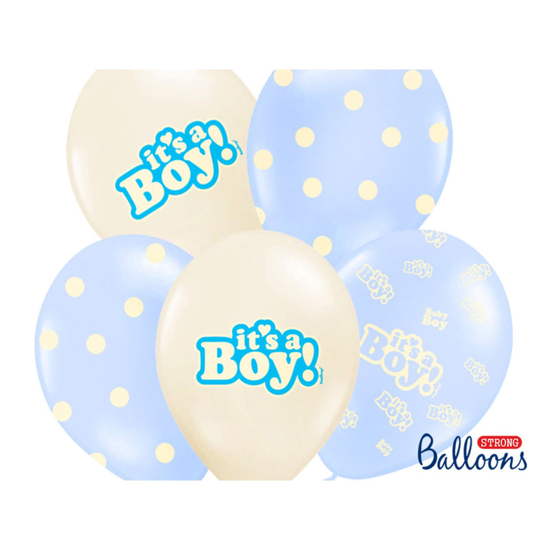 It's A Boy Balloons,[product type] - Baby Showers and More
