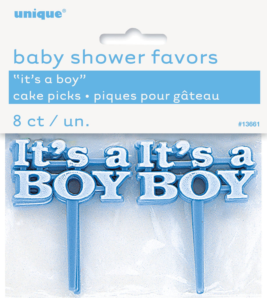 Its a Boy Cake Picks