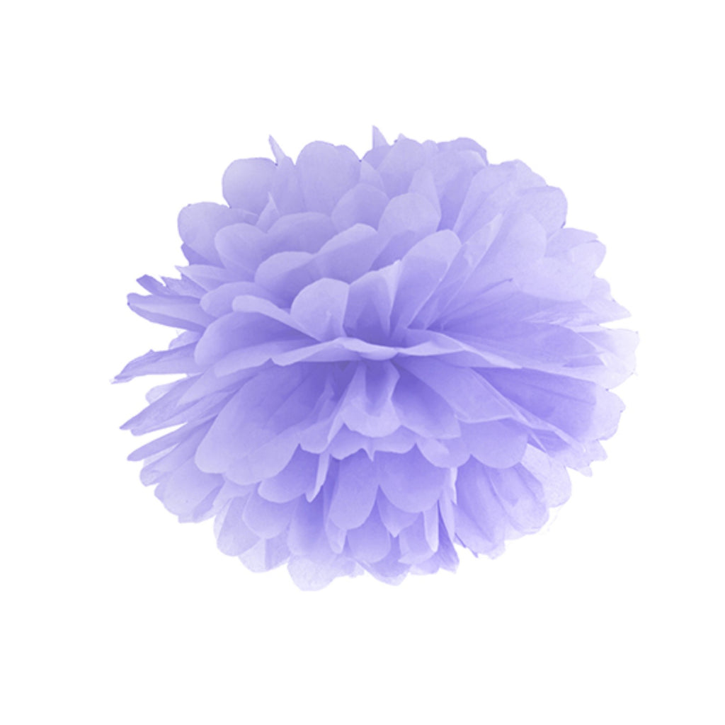 Lilac Puff Ball - Medium Size - CLEARANCE - Uk Baby Shower Co ltd