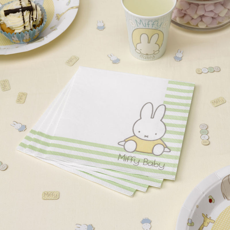 Baby Miffy Napkins,[product type] - Baby Showers and More