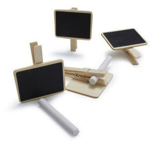 Chalkboard Clips - Uk Baby Shower Co ltd