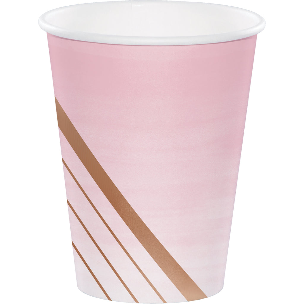 Rose Gold Blush Cups