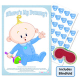 Pin the Dummy Game - Where's My Dummy! - Uk Baby Shower Co ltd