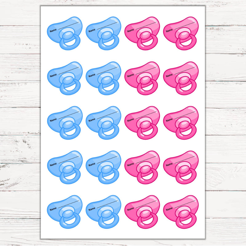 Pin the Dummy Game NEW - Uk Baby Shower Co ltd