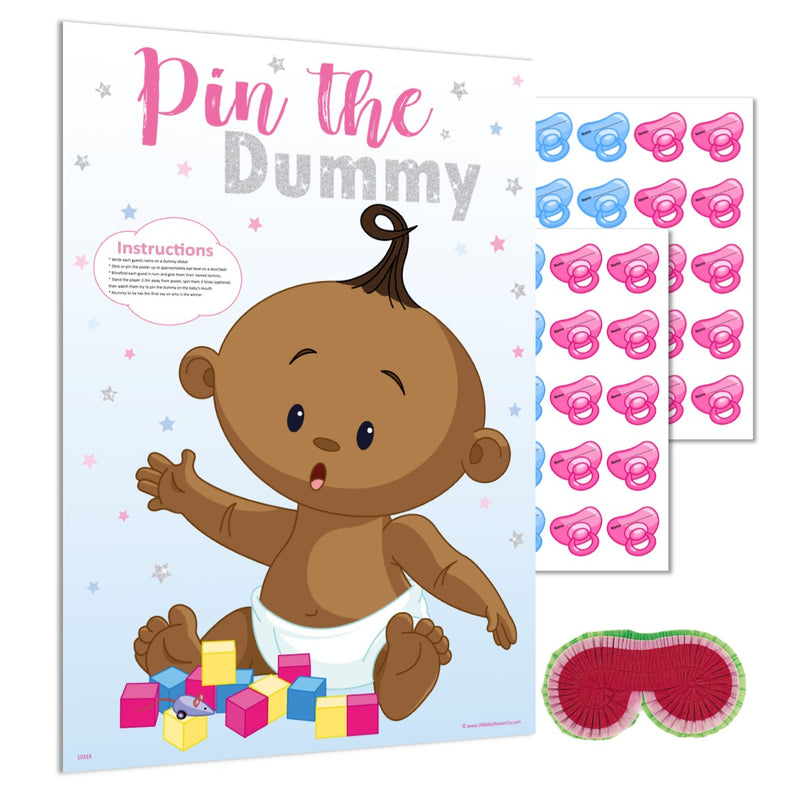 Ethnic Pin the Dummy Game NEW - Uk Baby Shower Co ltd