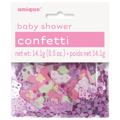Pink Dotty Baby Confetti - Uk Baby Shower Co ltd