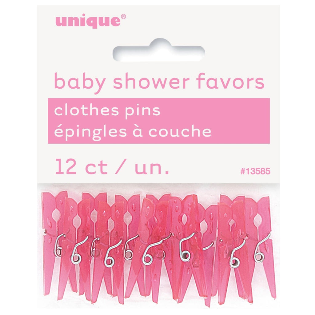 Pink Peg Favour Sprinkles,[product type] - Baby Showers and More