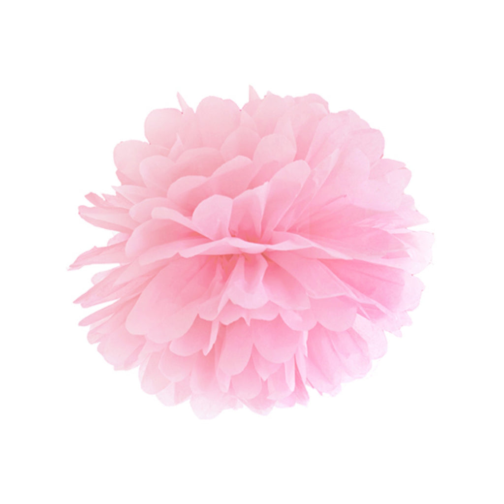 Pink Puff Balls 25cm,[product type] - Baby Showers and More