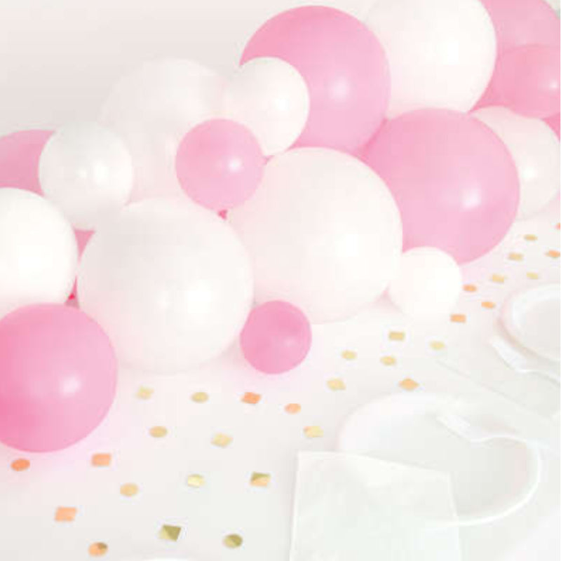 Pink and White Balloon Centrepiece DIY Kit
