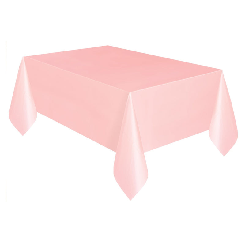 Plain Lovely Pink Tablecover,[product type] - Baby Showers and More
