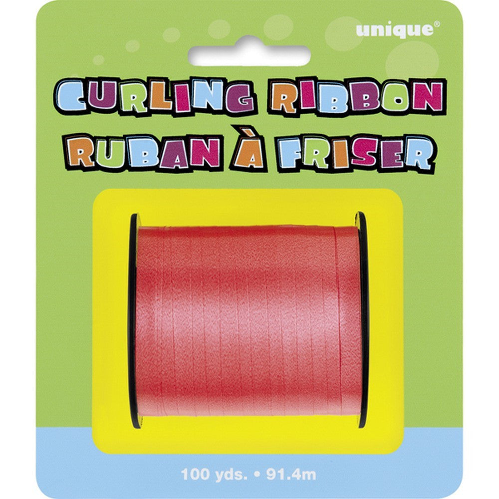 Red Curling Ribbon CLEARANCE - Uk Baby Shower Co ltd