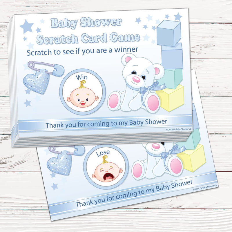 Stars Scratch Cards Game Stars Theme,[product type] - Baby Showers and More