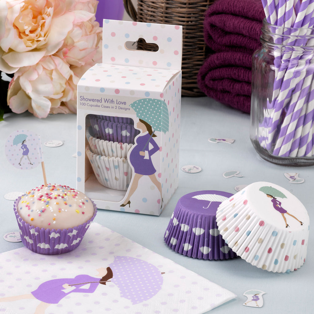 Showered With Love Cake Cases - CLEARANCE