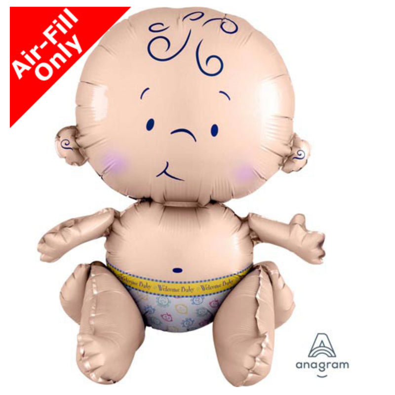 Sitting Baby Balloon Decoration Air-Fill