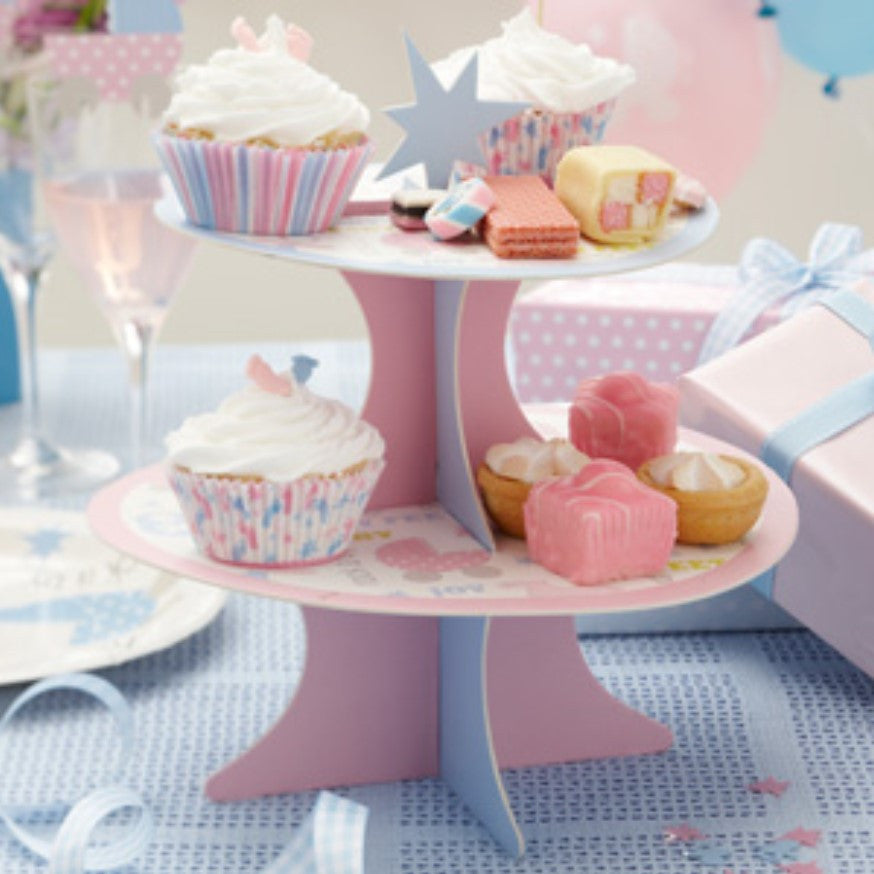 Tiny Feet Cake Stand,[product type] - Baby Showers and More