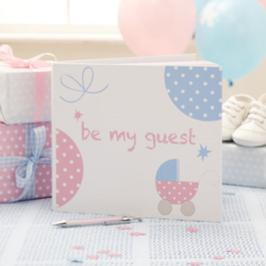 Tiny Feet Guest Book,[product type] - Baby Showers and More