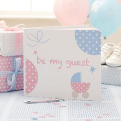 Tiny Feet Guest Book - CLEARANCE - Uk Baby Shower Co ltd
