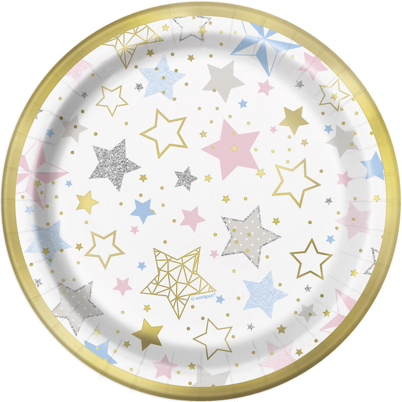 Twinkle Little Star Side Plates Unisex - Uk Baby Shower Co ltd