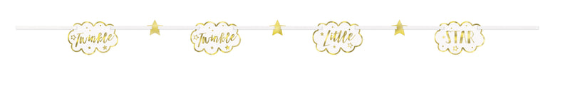 Twinkle Little Star Cloud Garland - Uk Baby Shower Co ltd