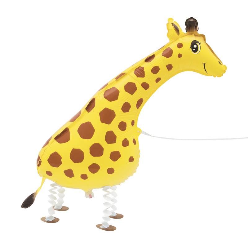 Walking Pet Giraffe Balloon INFLATED