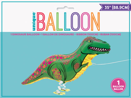 Walking Pet T-Rex Balloon INFLATED