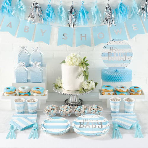 Welcome Baby Boy Favour Boxes