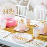 Welcome Baby Girl Invitations