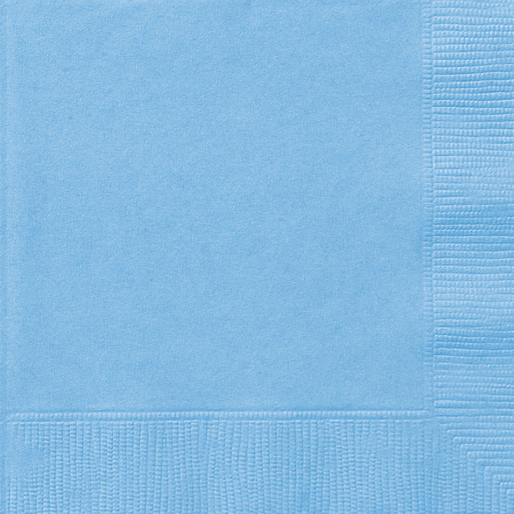 Blue Napkins - Uk Baby Shower Co ltd