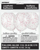 Confetti Balloons Pink - Uk Baby Shower Co ltd