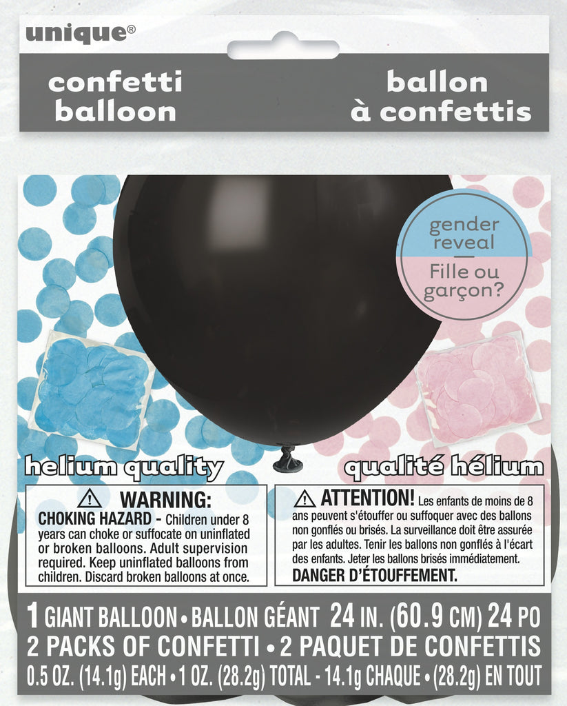 Gender Reveal Giant Confetti Balloon
