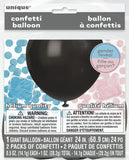 Gender Reveal Giant Confetti Balloon - Uk Baby Shower Co ltd