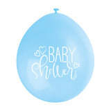 Baby Shower Hanging Balloons Blue (09) - Uk Baby Shower Co ltd