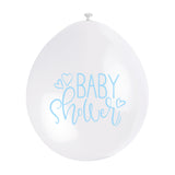 Baby Shower Hanging Balloons Blue - Uk Baby Shower Co ltd