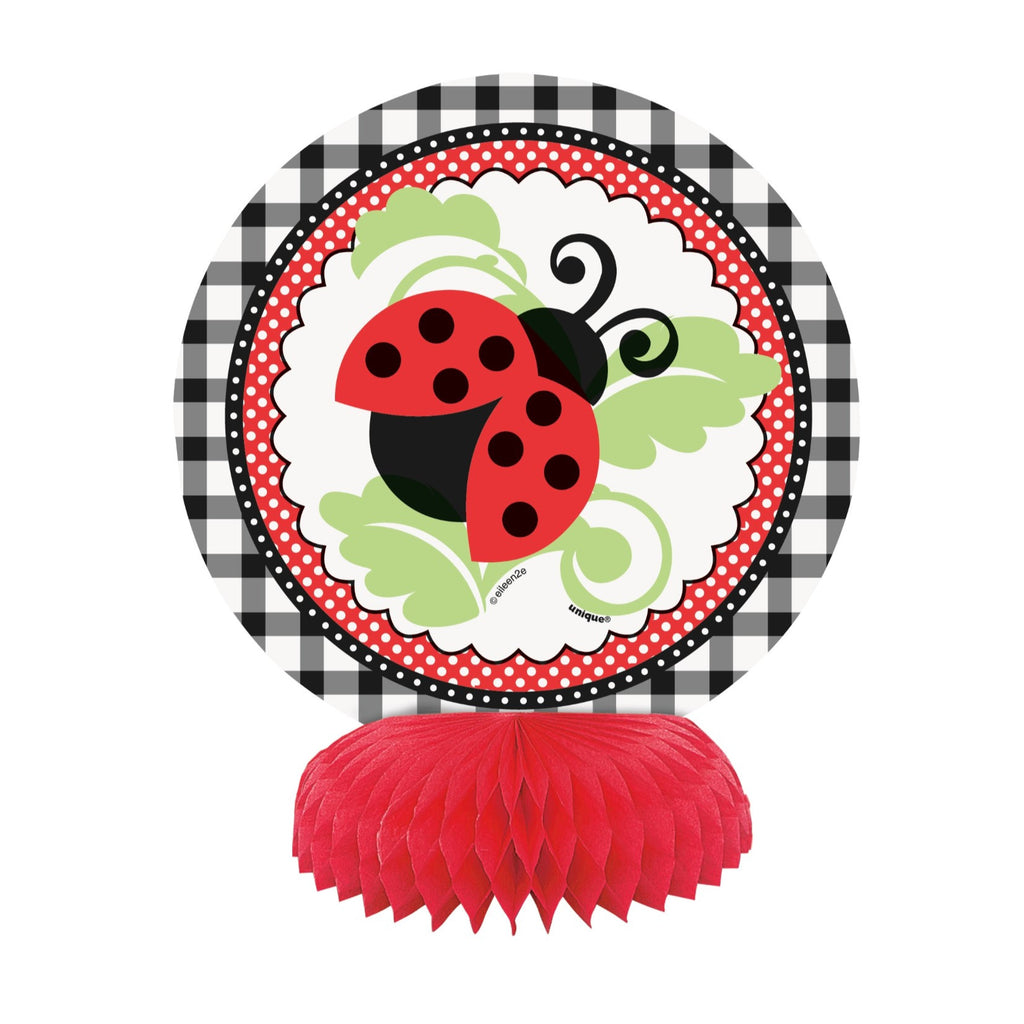 Lively Ladybug Honeycomb Decorations,[product type] - Baby Showers and More