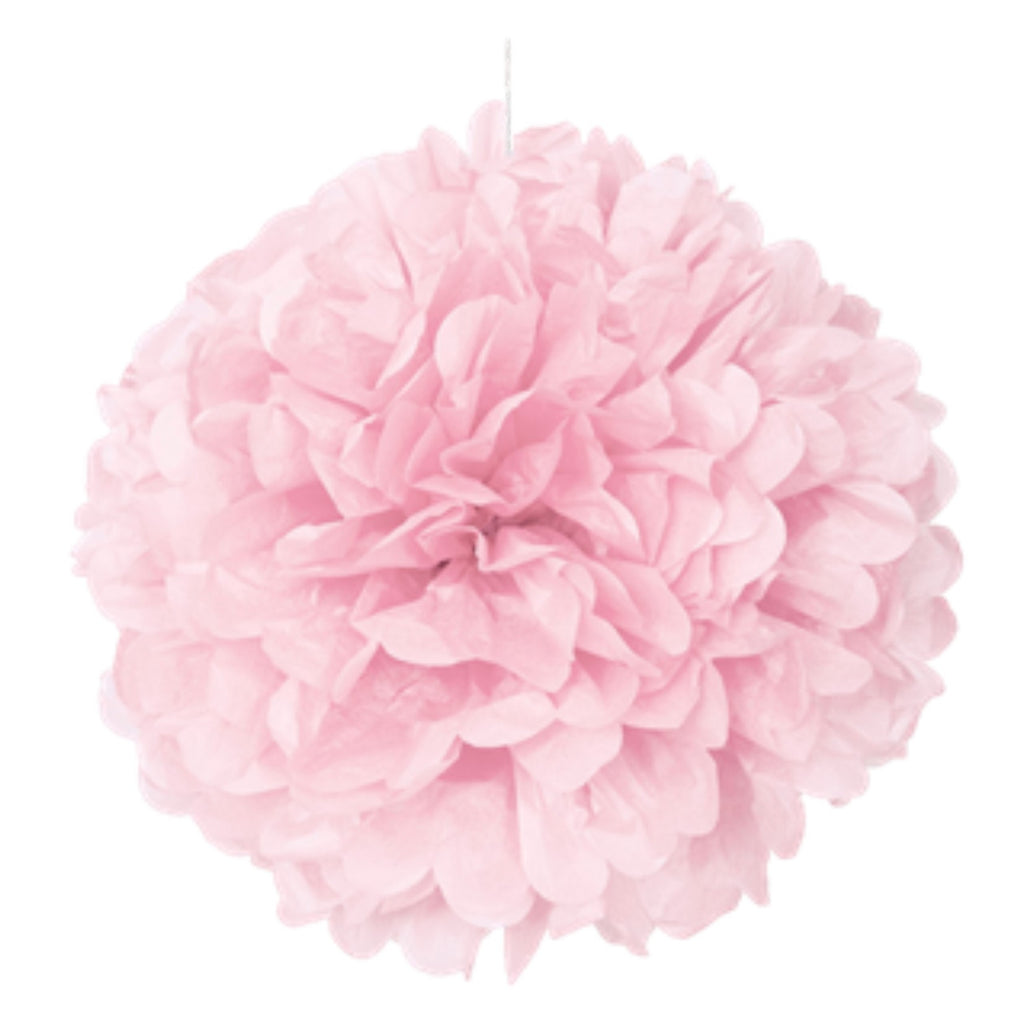 Pink Puff Ball 40cm,[product type] - Baby Showers and More