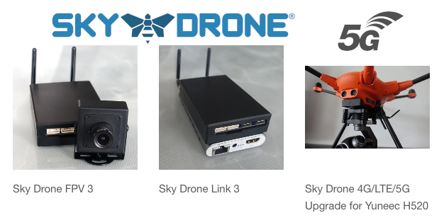 5G Connectivity for All Sky Drone Products - Available Today