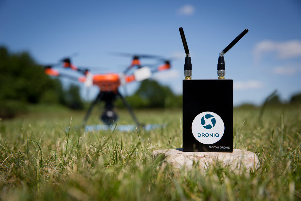 Droniq and Sky Drone make BVLOS Drone Flights with Real-time Command & Control possible