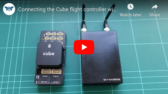 Connecting a Cube Flight Controller to Sky Drone FPV 3 (and Link 3)