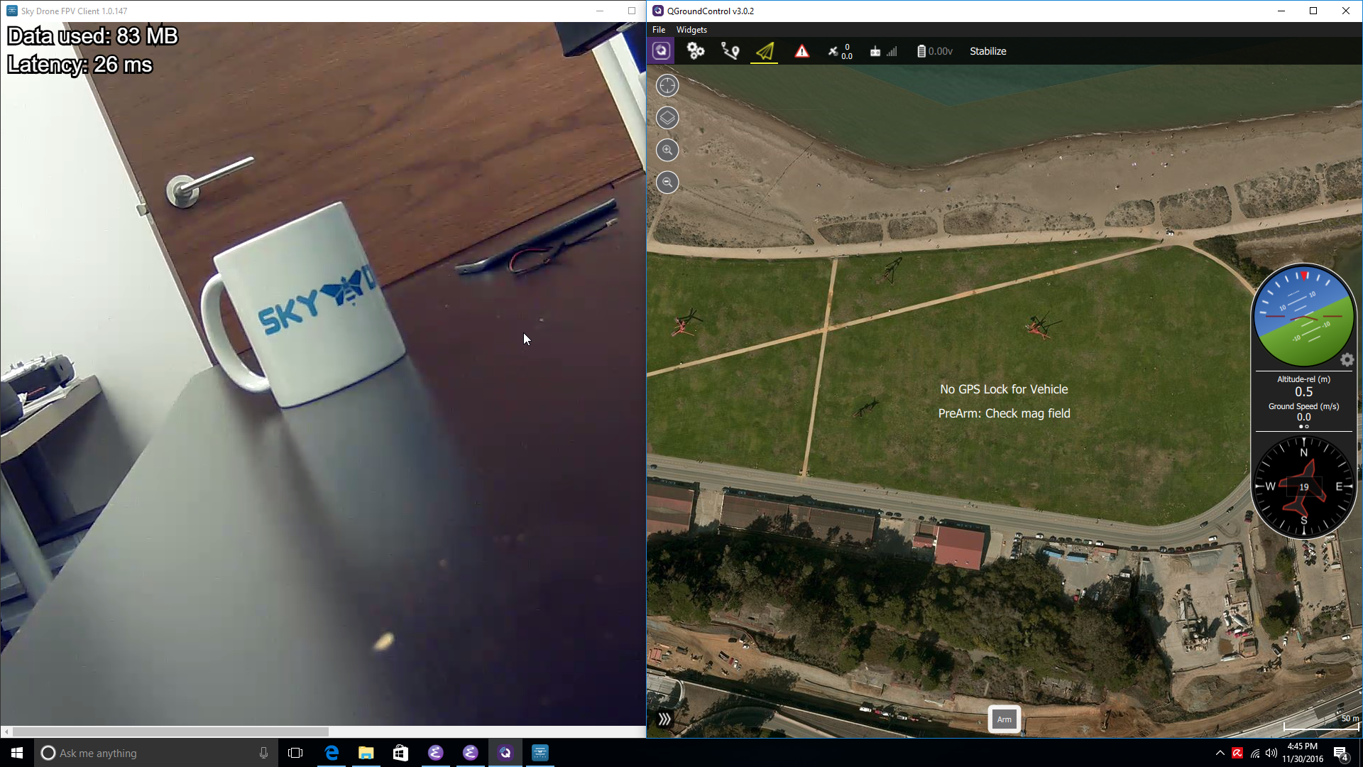 Using Sky Drone FPV with QGroundControl for full 4G/LTE drone control