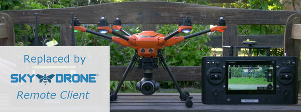 Remote Team Mode with Sky Drone 4G/LTE Upgrade for Yuneec H520