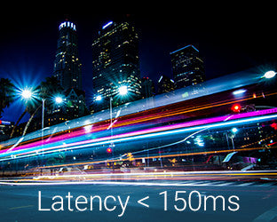 Lightning fast low latency