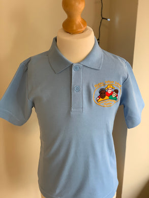 Ripley Infant School Sky Blue Polo Shirt - Matilda & Jack