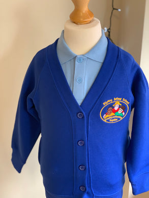Ripley Infant School Royal Blue Cardigan - Matilda & Jack