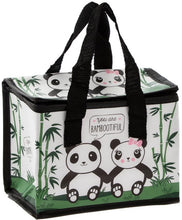 Load image into Gallery viewer, Panda insulated lunch bag