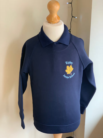 Ripley Junior School Crew Neck Sweatshirt