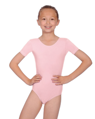 Roch Valley PRIM Short Sleeve Cotton Pre-Primary Leotard - Matilda & Jack